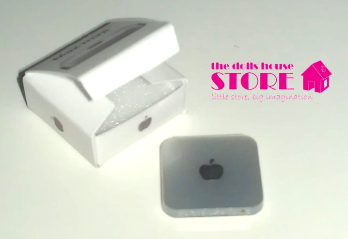 Dolls House Miniature Mac Mini Computer, * Exclusive Products * - The Dolls House Store