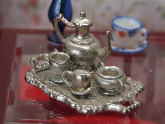 Dolls House Miniature Coffee Set, Accessories - The Dolls House Store