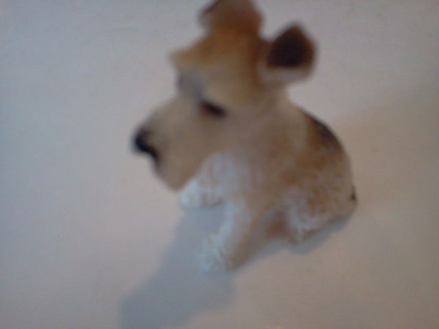 Dolls House Miniature Single Brown & White Dog, Pets and Animals - The Dolls House Store