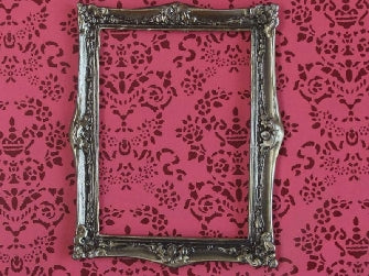 Dolls House Miniature Medium Antique Finish Frame, Paintings - The Dolls House Store