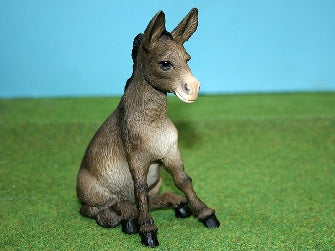 Dolls House Miniature Sitting Donkey, Pets and Animals - The Dolls House Store