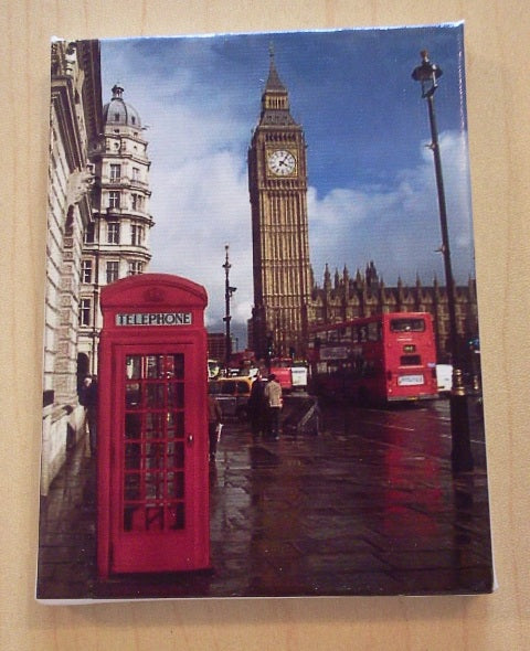 Dolls House Miniature Canvas Of London Big Ben, Paintings - The Dolls House Store