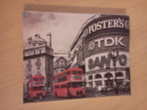 Dolls House Miniature Canvas Of London Buses, Paintings - The Dolls House Store