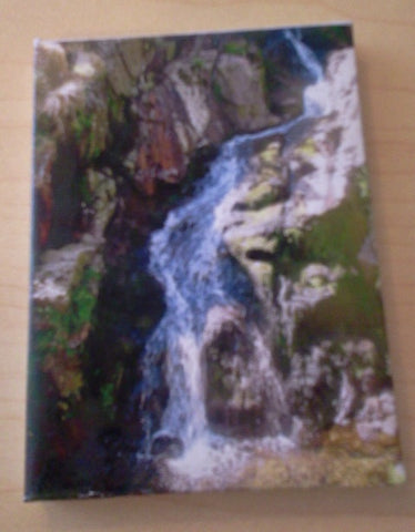 Dolls House Miniature Canvas Of Waterfull, Paintings - The Dolls House Store