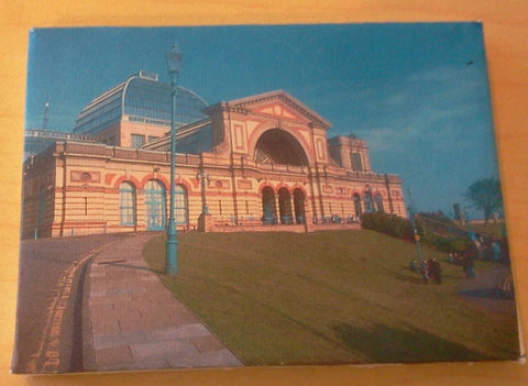 Dolls House Miniature Canvas Of Alexandra Palace, Paintings - The Dolls House Store
