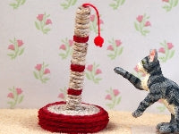 Dolls House Miniature Cat Scratching Post, Pets and Animals - The Dolls House Store