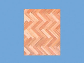Dolls House Miniature Parquet Flooring (Per Sheet), Flooring - The Dolls House Store