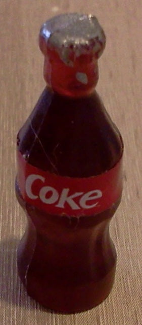 Dolls House Miniature Coke Bottle, Food and Drink - The Dolls House Store