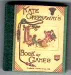 Dolls House Miniature Book of Games Illustrated Book, Miniature Books - The Dolls House Store