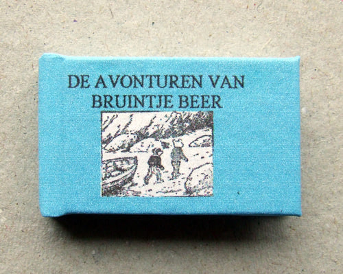 Dolls House Miniature Bruintje Beer Zeerovers Illustrated Book, Miniature Books - The Dolls House Store
