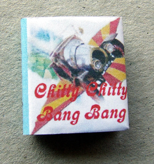 Dolls House Miniature Chitty Chitty Bang Bang Lg Illustrated Book, Miniature Books - The Dolls House Store