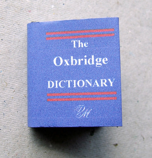 Dolls House Miniature Dictionary Illustrated Book, Miniature Books - The Dolls House Store