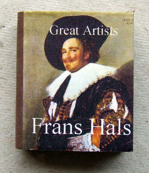 Dolls House Miniature Frans Hals Illustrated Book, Miniature Books - The Dolls House Store