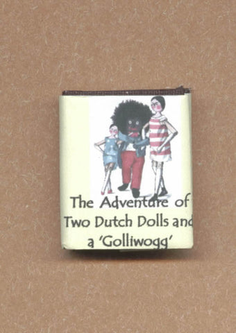 "Dolls House Miniature ""Golliwog,Two Dutch Dolls Illustrated Book"", Miniature Books - The Dolls House Store"
