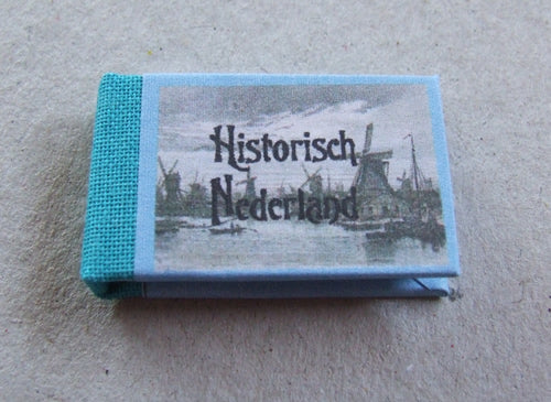 Dolls House Miniature Historic Netherlands Illustrated Book, Miniature Books - The Dolls House Store