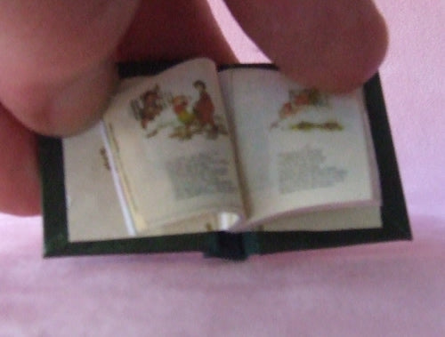 Dolls House Miniature Pied Pier FY Illustrated Book, Miniature Books - The Dolls House Store
