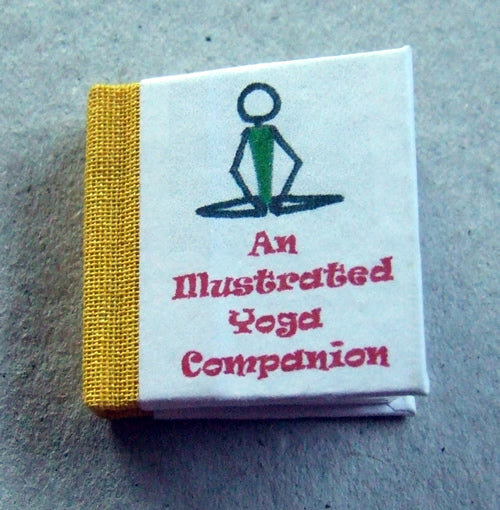 Dolls House Miniature Yoga Companion Illustrated Book, Miniature Books - The Dolls House Store