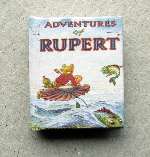 Dolls House Miniature Rupert 1950 Limited Edition Annual, Miniature Books - The Dolls House Store