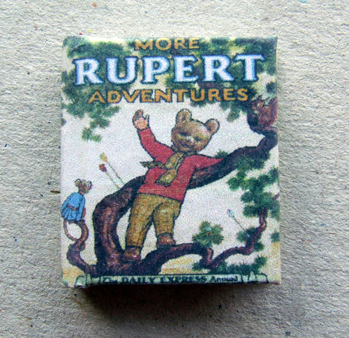 Dolls House Miniature Rupert 1952 Limited Edition Annual, Miniature Books - The Dolls House Store