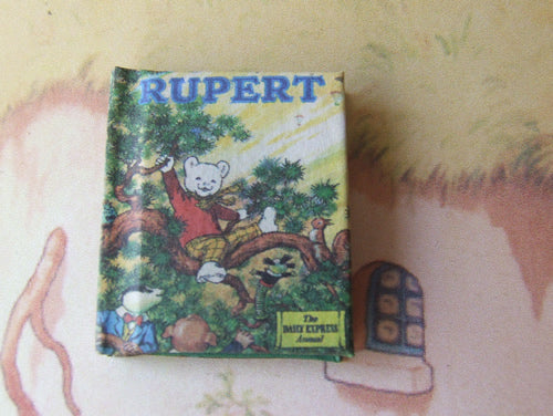 Dolls House Miniature Rupert 1973 (brown faced) Limited Edition Annual, Miniature Books - The Dolls House Store