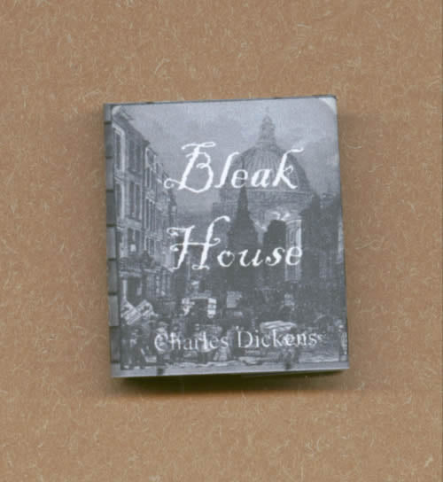 Dolls House Miniature Bleak House Book, Miniature Books - The Dolls House Store