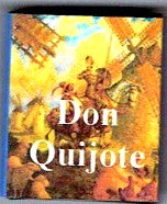Dolls House Miniature Don Quijote - Spanish Book, Miniature Books - The Dolls House Store