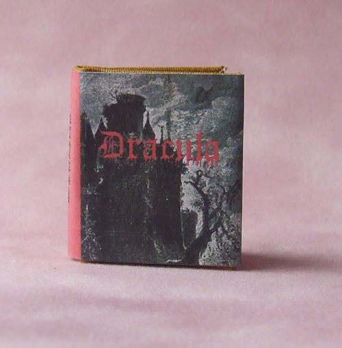 Dolls House Miniature Dracula Book, Miniature Books - The Dolls House Store
