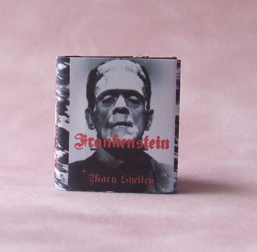 Dolls House Miniature Frankenstein Book, Miniature Books - The Dolls House Store