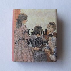 Dolls House Miniature Good Wives Book, Miniature Books - The Dolls House Store