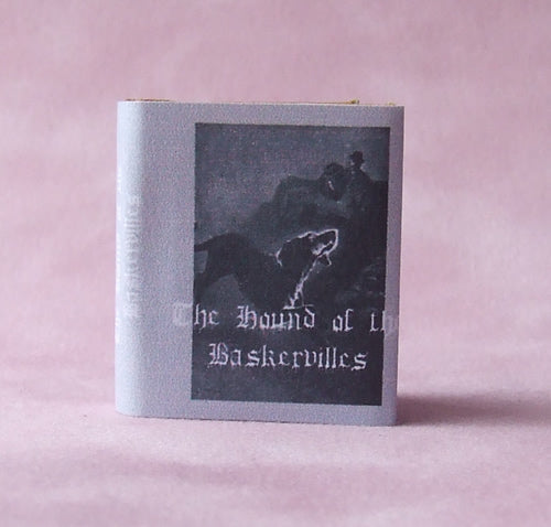 Dolls House Miniature Hound of the Baskervilles Book, Miniature Books - The Dolls House Store