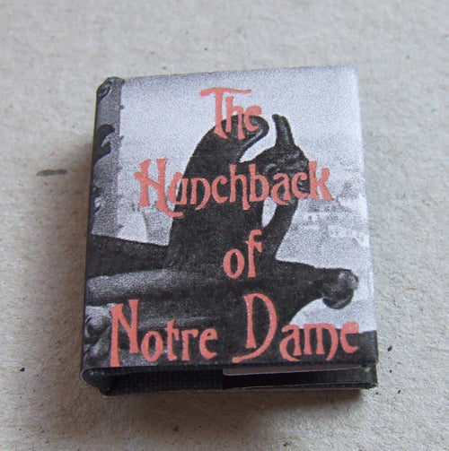 Dolls House Miniature Hunchback of Notre Dame Book, Miniature Books - The Dolls House Store
