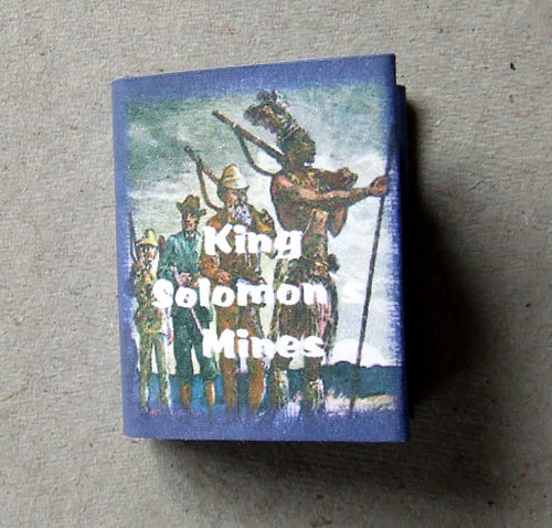 Dolls House Miniature King Solomons Mines Book, Miniature Books - The Dolls House Store