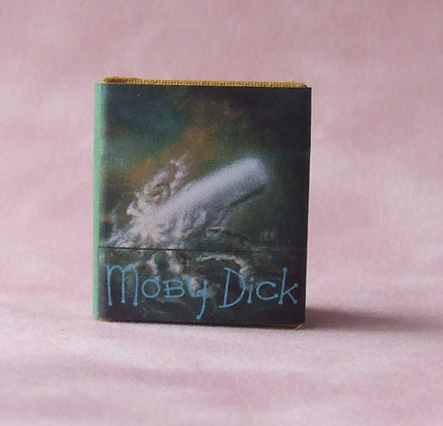 Dolls House Miniature Moby Dick Book, Miniature Books - The Dolls House Store