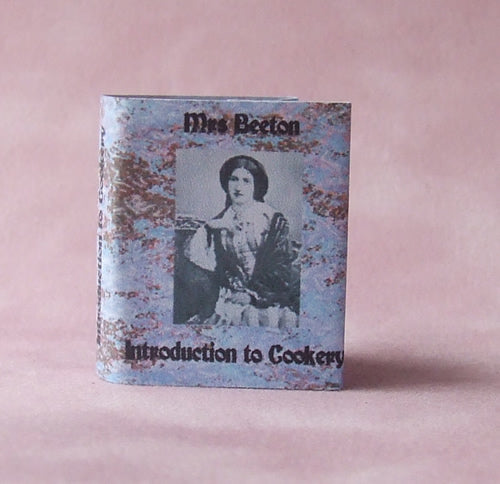Dolls House Miniature Mrs Beeton Book, Miniature Books - The Dolls House Store