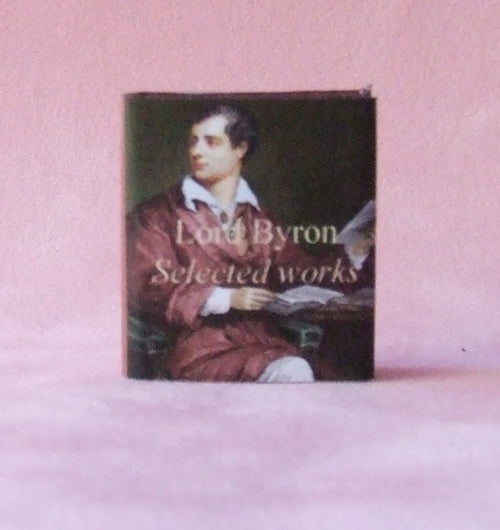 Dolls House Miniature Poems of Byron Book, Miniature Books - The Dolls House Store
