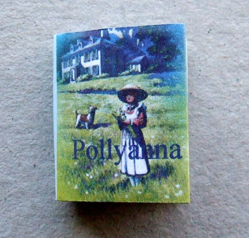 Dolls House Miniature Pollyanna Book, Miniature Books - The Dolls House Store