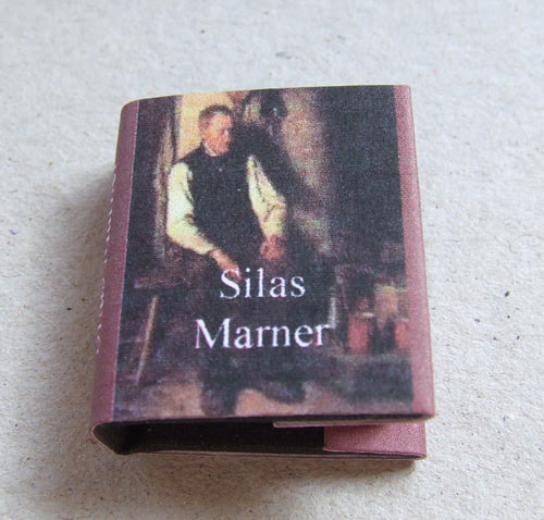 Dolls House Miniature Silas Marner Book, Miniature Books - The Dolls House Store