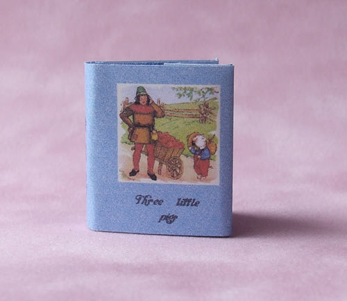 Dolls House Miniature Three Little Pigs Book, Miniature Books - The Dolls House Store
