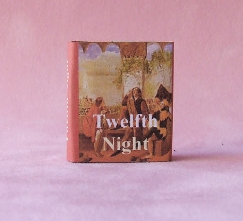 Dolls House Miniature Twelth Night Book, Miniature Books - The Dolls House Store
