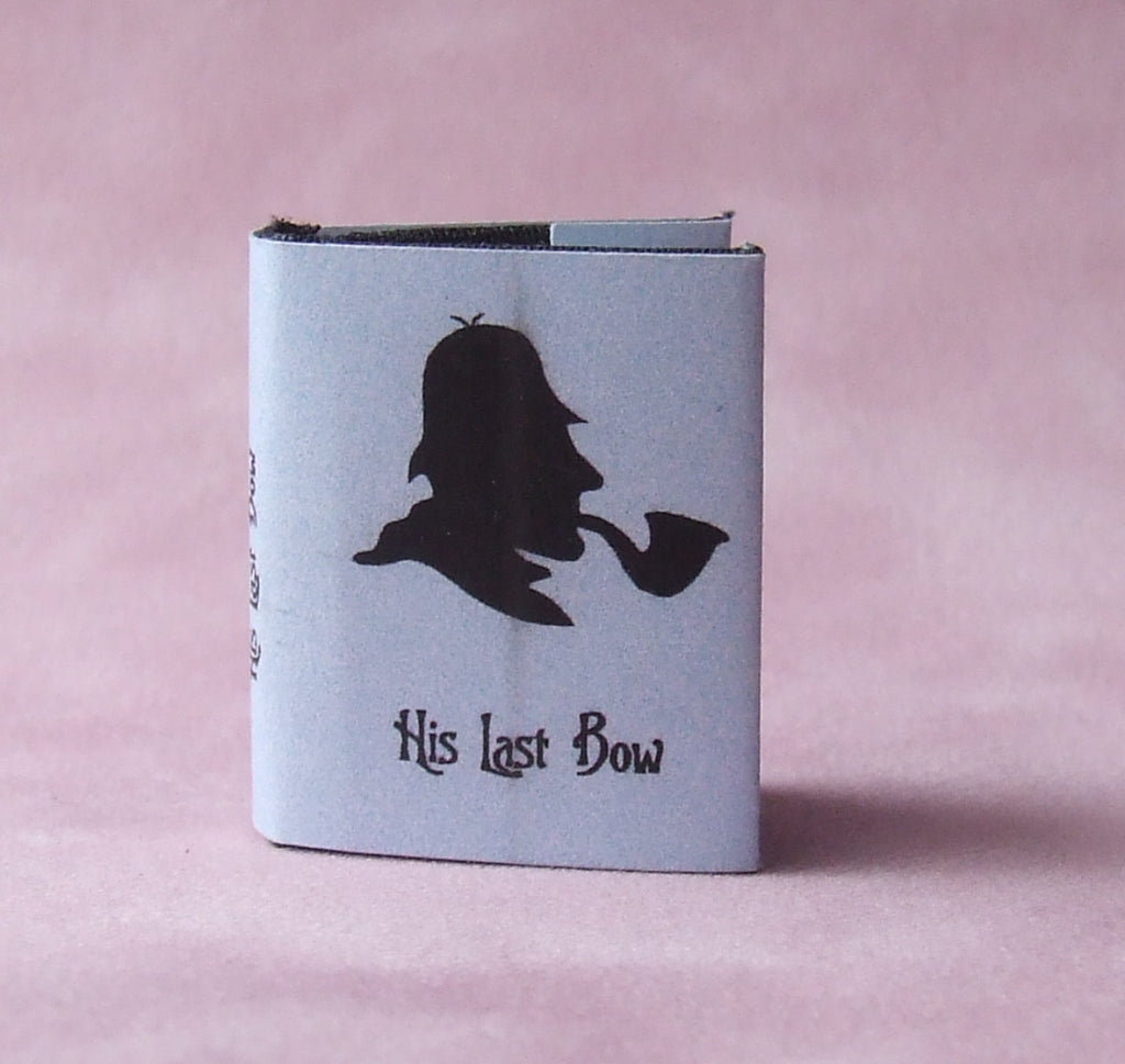 Dolls House Miniature His Last Bow Classic Bound Book, Miniature Books - The Dolls House Store