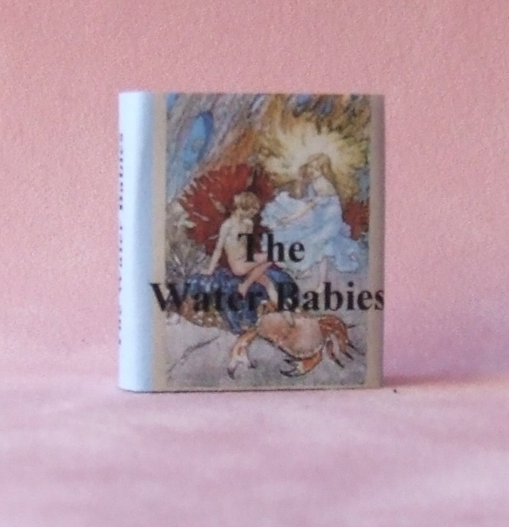 Dolls House Miniature Water Babies Classic Bound Book, Miniature Books - The Dolls House Store