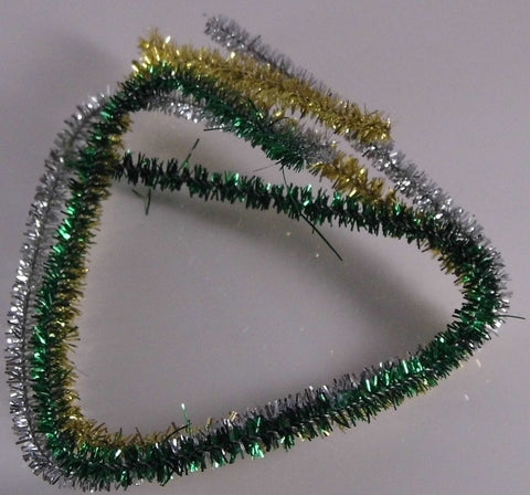 Dolls House Miniature Christmas Tinsel 3 Different Colours, Christmas - The Dolls House Store