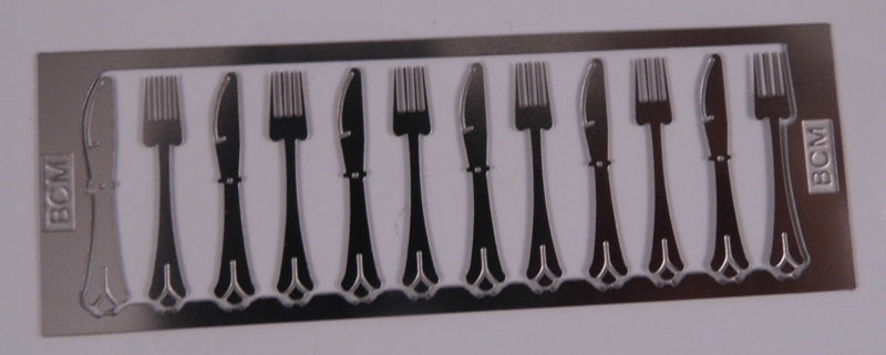 Dolls House Miniature Knives & Forks, DIY - The Dolls House Store