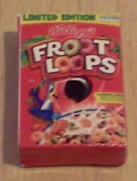Dolls House Miniature Froot Loops, Food and Drink - The Dolls House Store