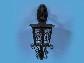 Dolls House Miniature Ornate Carriage Lamp, Lighting - The Dolls House Store