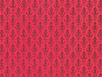 Dolls House Miniature Victorian Red On Red, Wallpaper - The Dolls House Store