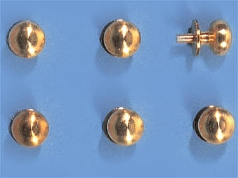 Dolls House Miniature Set Of 10 Door Knobs, DIY - The Dolls House Store