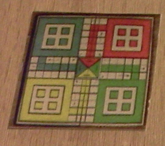 Dolls House Miniature Coloured Board Game, Games Room - The Dolls House Store