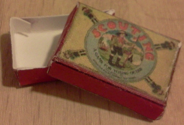 Dolls House Miniature Scouting Board Game Packet, Games Room - The Dolls House Store