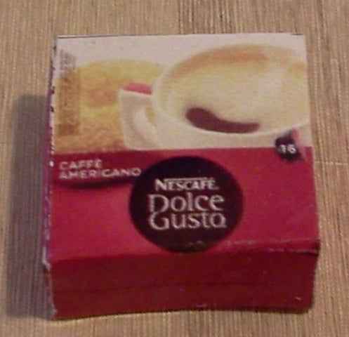 Dolls House Miniature Caffe Americano Dolce Gusto, Food and Drink - The Dolls House Store